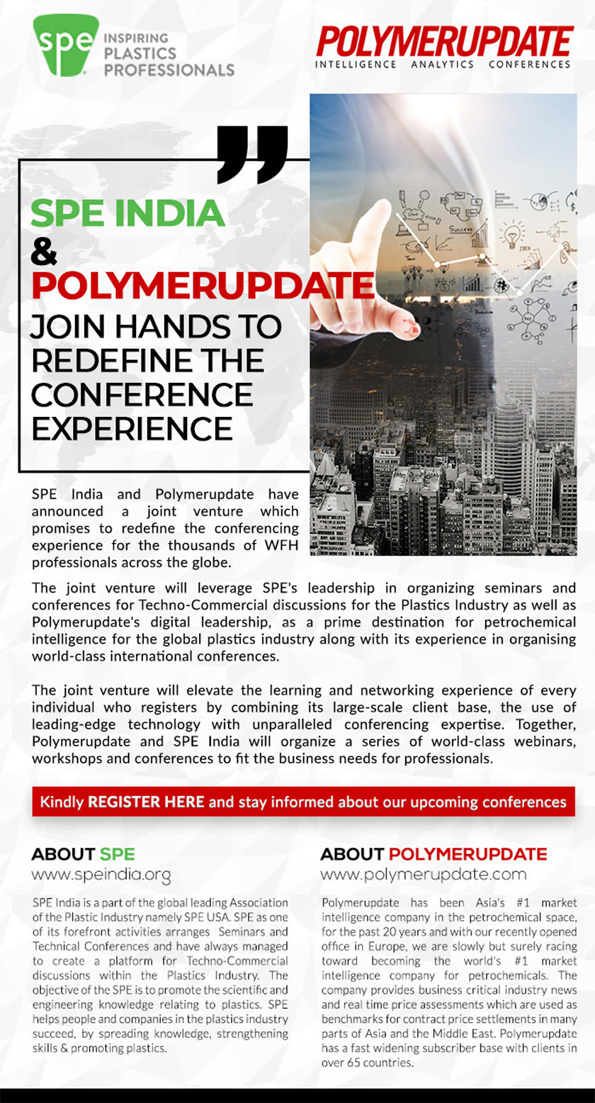 SPE India and POLYMERUPDATE Join Hands To redefine The Conference Experience